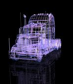 caminhão 3D