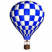 3d model hot air balloon