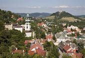old castle in Banska Stiavnica - Slovakia - unesco monument