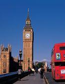 Escena de Big Ben de Inglaterra