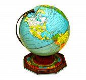 Tin Globe poster
