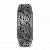 Car Tire Isolated On White Background. Semi-trailer Truck Tire. Tractor Tire. Black Rubber Truck Tir poster