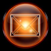 Postal Envelope Icon.