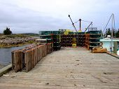 Lobster Traps & Boat