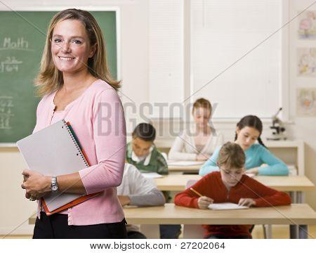 учитель в классе фото