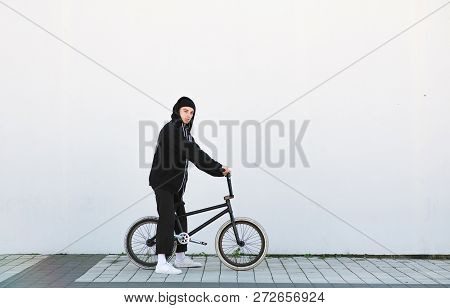 Portrait Of A Stylish Young