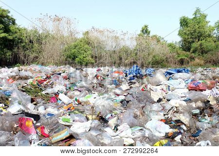 Garbage Waste Landscape Background Many
