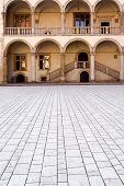 Wawel Castle Courtyard poster