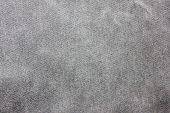 Dark Grey Texture Background Of  Seamless Empty Fabric, Close Up Top View. Blank Gray Jean Fabric Ba poster