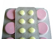 Pink And Yellow Tablets