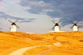 molinos de viento, Alcazar de San Juan, Castilla-La Mancha, España