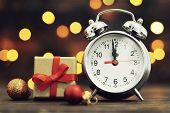 New Year Countdown. Midnight Clock poster