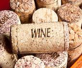 Old wine cork