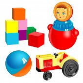 vector toys. set 2