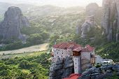The Holy Monastery of Rousanou / St. Barbara  (founded in the middle of 16th century AD) Meteora, Gr