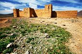 Moroccan Kasbah, Middle Atlas Mountains, Africa