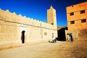 Moroccan kasbah, Africa