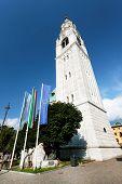 Cortina D Ampezzo Catedral, Italia, Europa