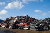 Pile Of Used Cars
