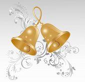Two Gold Handbells