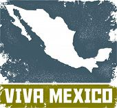 Viva Mexico Vintage Sign