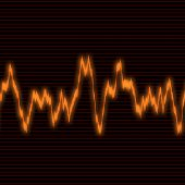 Orange Waveform