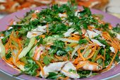 Shrimp Prawn Pork Salad