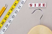 Hanger And Measuring Tape