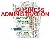Business Administration Word Tags
