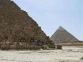 Pyramid Of Khafre And Cheops