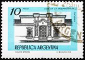Postage stamp Argentina 1978 Independence Hall, Tucuman