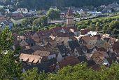 Wertheim Aerial View In Sunny Ambiance