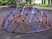 Colorful Geodesic Dome