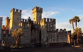 The Scaliger Castle In Sirmione