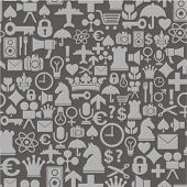 abstract symbols pattern