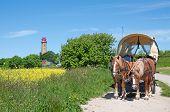 Lighthouse at Kap Arkona,Ruegen Island,Germany