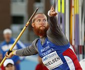 Javelin Throw Man Athlete Canada