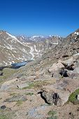 foto of colorado high country  - a scenic landscape in the colorado high country - JPG