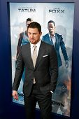 NEW YORK-JUNE 25: Actor Channing Tatum attends the domestic premiere of