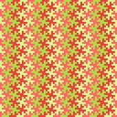 Red And Green Jigsaw