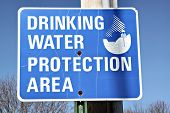 Safe Water Sign