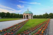 picture of munich residence  - Palais of Residence garden Munich City Germany - JPG