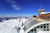 weather station at Zugspitze