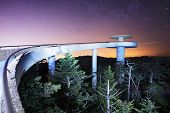 stock photo of gatlinburg  - The observation deck of Clingman - JPG