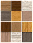 Woodgrain Background Set