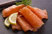smiked salmon