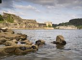 Castle Of San Felipe And La Palma In The Estuary Of Ferrol