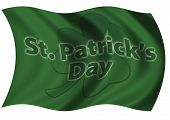 St Patrick's Day Flag