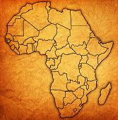 Guinea Bissau On Actual Map Of Africa