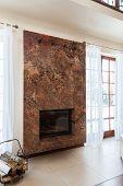 Classy House - Fireplace